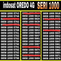 NOMOR CANTIK INDOSAT 4Gplus 10005xxx