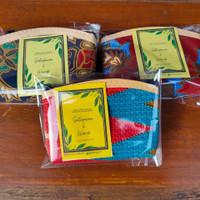 Dompet Batik Kotak Souvenir Pernikahan Dompet Koin FREE Kemas & ucapan
