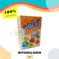 Nutrijell / Nutrijel ukuran Ekonomis 10 gr ( 1 box) isi 12 sachet