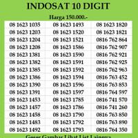 Nomor Cantik Indosat Im3 10 4G digit Kartu Perdana non simpati xl axis