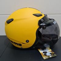 Helm JPN kawai momo kuning doff bogo ori