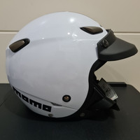 Helm JPN kawai momo putih gloss pet