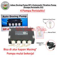 Jebao Dosing Pump DP-4 Automatic Titration Pump / Pompa Peristaltic EU