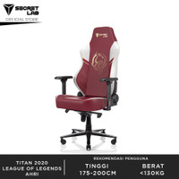 Secretlab TITAN 2020 Series League of Legends Kursi Gaming - Ahri