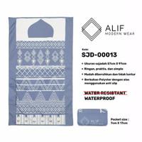 Sajadah Saku Anti Air | Sajadah Travel Lipat Alif Modern Wear SJD-0013