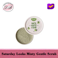 SATURDAY LOOKS MINTY GENTLE SCRUB FACE MASK - 125Gr
