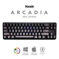 KOODO Arcadia 68% Layout Mechanical Keyboard Gateron  Black Case