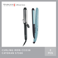 Bundling Remington Pro Big Curl 38mm Tong CI5538 -Wet 2 Straight S7300