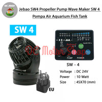 Jebao SW4 Propeller Pump Wave Maker SW 4 Poma Air Aquarium Fish Tank