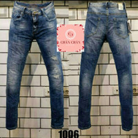 Celana Panjang jeans GUESS BLUE Import Premium Quality Branded Casual