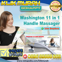 [KEMENKES] Alat Pijat Terlengkap Washington 11 fungsi Ghk12 | Go Happy