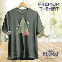 PREMIUM T-Shirt   Kaos Dewasa   Christmas   Christmas Tree