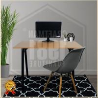 Meja Komputer Worktable Tulis Belajar 120x60 Murah Modern Minimalis