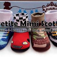 PETITE MIMI SCOTTY SHOE SOCKS, KAOS KAKI SEPATU BAYI, jayastore18