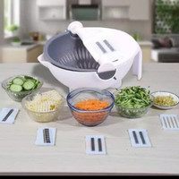wet basket vegetable cutter nicer dicer pemotong buah sayuran all in 1