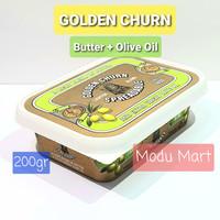 GOLDEN CHURN Butter Lighter Extra Virgin Olive Oil 200g - Mentega Krim