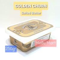 GOLDEN CHURN Salted Butter Pure Creamery 250g - Mentega Krim Rasa Asin