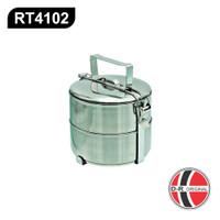 Rantang Makan 2 susun / Food Carrier 14 cm RT4102