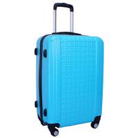Real Polo Tas Koper Hardcase Fiber ABS 4 Roda Putar - GGEB Size 24 Inc