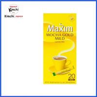 Maxim mocha gold mild rasa moka KOREA coffee isi 20 sachet 240 gr