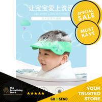 TheEverythingStore - Baby Shower Cap / Topi Keramas Mandi Anak Kecil