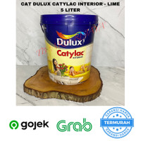 Cat Tembok Interior Dulux Catylac 5 KG - Lime