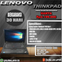 LAPTOP LENOVO THINKPAD T410 I5|4GB|320GB|LCD14"