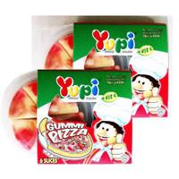 permen yupi pizza dll