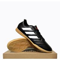 Sepatu Futsal Adidas Goletto VII IN EE4484 Black White ORIGINAL BNIB