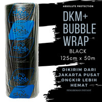PLASTIK BUBBLE WRAP DKM+ BLACK 125CM X 50M