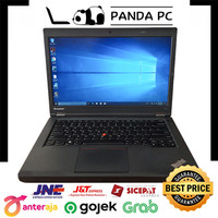 Laptop Lenovo ThinkPad T440p - Intel Core i7 Gen4 - Second Termurah - 4GB-HDD500GB