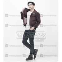 jaket jeans pria original