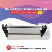 Penyangga laminating Holder Mesin Laminasi Roll A3