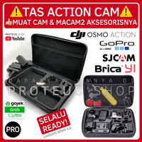 ✅ CASE TAS KOPER SJCam Brica DJI Osmo Action Cam GoPro Hero BAG Yi