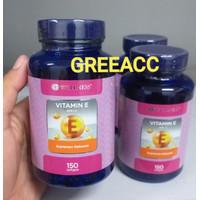 Wellness Natural Vitamin E 400 I.U. 150 softgels IU 400IU Vit