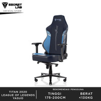Secretlab TITAN 2020 Series League of Legends Kursi Gaming - Yasuo