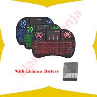 Keyboard Mini Wireless RGB 2.4GHz Backlight Dengan TouchPad Mouse BL56