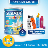 Sustagen Junior 1800gx2 Free Tupperware Bottle Sport