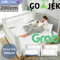 Choc Chick 200cm Extra Tall Bedrail Pagar Ranjang BAYI Bed Guard