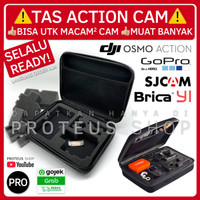 ✅ TAS CASE KOPER DJI Osmo Action Cam GoPro Hero 4 5 6 7 8 SJCam BAG