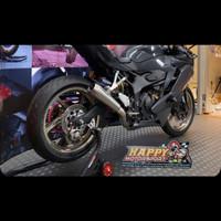 Knalpot Arrow Full system Pro Race Titanium Kawasaki ZX25R
