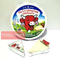 THE LAUGHING COW Cheese Spread 8 Portion 120g - TLC Keju Krim Olesan