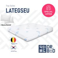 Kasur LATEX DR.BED ukuran 160 x 200 x 17 cm