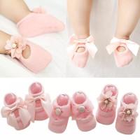 Sepatu prewalker bayi perempuan import