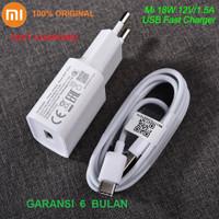 Charger Xiaomi Mi 10t Pro 5G /Lite 5G / Mi 10 Ultra Fast Charging 18W