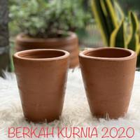 Pot Terracotta Gelas Kecil Pot Tanah Liat Gelas Kecil Pot Gerabah