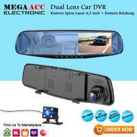 Car Camera Spion + Dasbor Cam Vehicle Blackbox DVR Full HD 1080P
