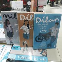 PAKET 3 NOVEL DILAN #1 DILAN #2 MILEA By PIDI BAIQ