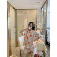 Baju Tidur Wanita Setelan Celana Piyama Import / Piyama big size busui