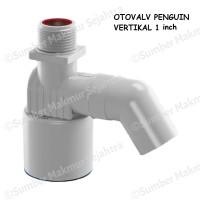 Pelampung Air Otomatis Penguin Otovalv Vertikal 1 inch - OVV 100